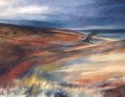 The Last Skydancer. Oil on canvas, 91 x 66 cm.