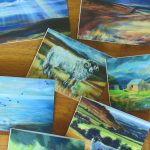 Greetings cards, seven designs