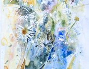 Meadow. Watercolour. 29 x 42 cm