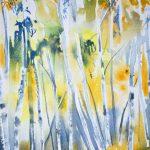 Silver Birches, Glen Feshie. Watercolour. 2012