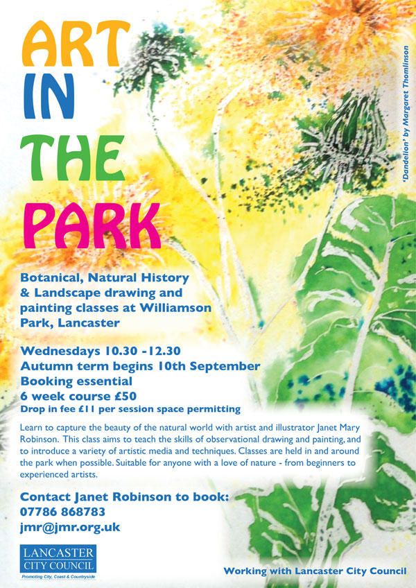 Art in the Park Autumn 2014