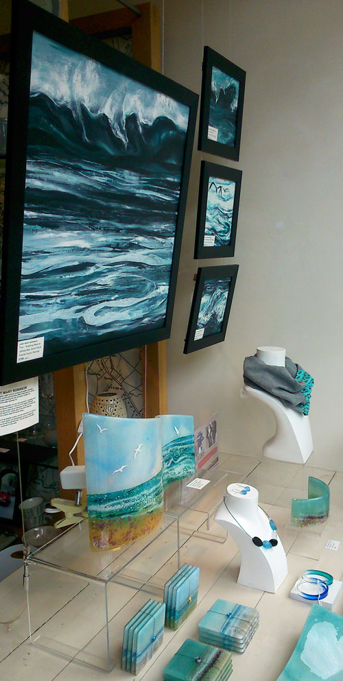 Sea paintings on show in Arteria, Lancaster