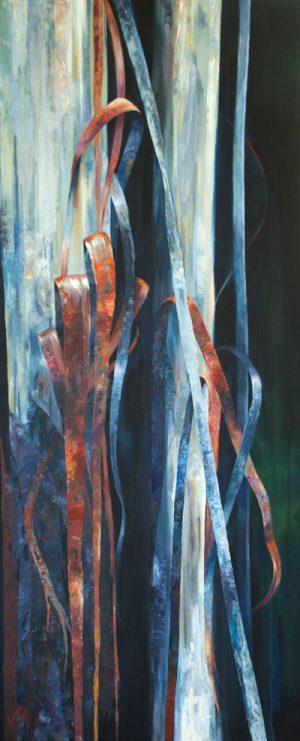 Ribbon Bark. Acrylic