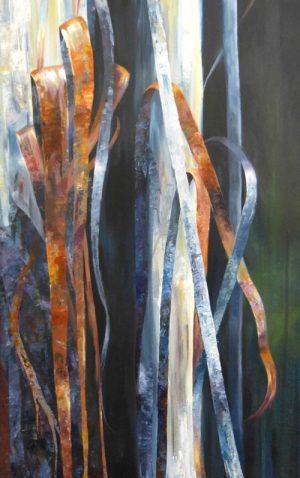 Ribbon Bark, detail