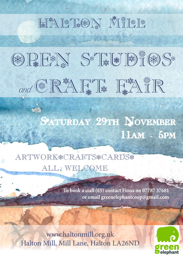 Halton Mill Christmas Open Studios 2014