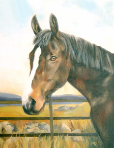 'Badsworth'. Oil on canvas.