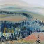 'Plantation' Acrylic on canvas