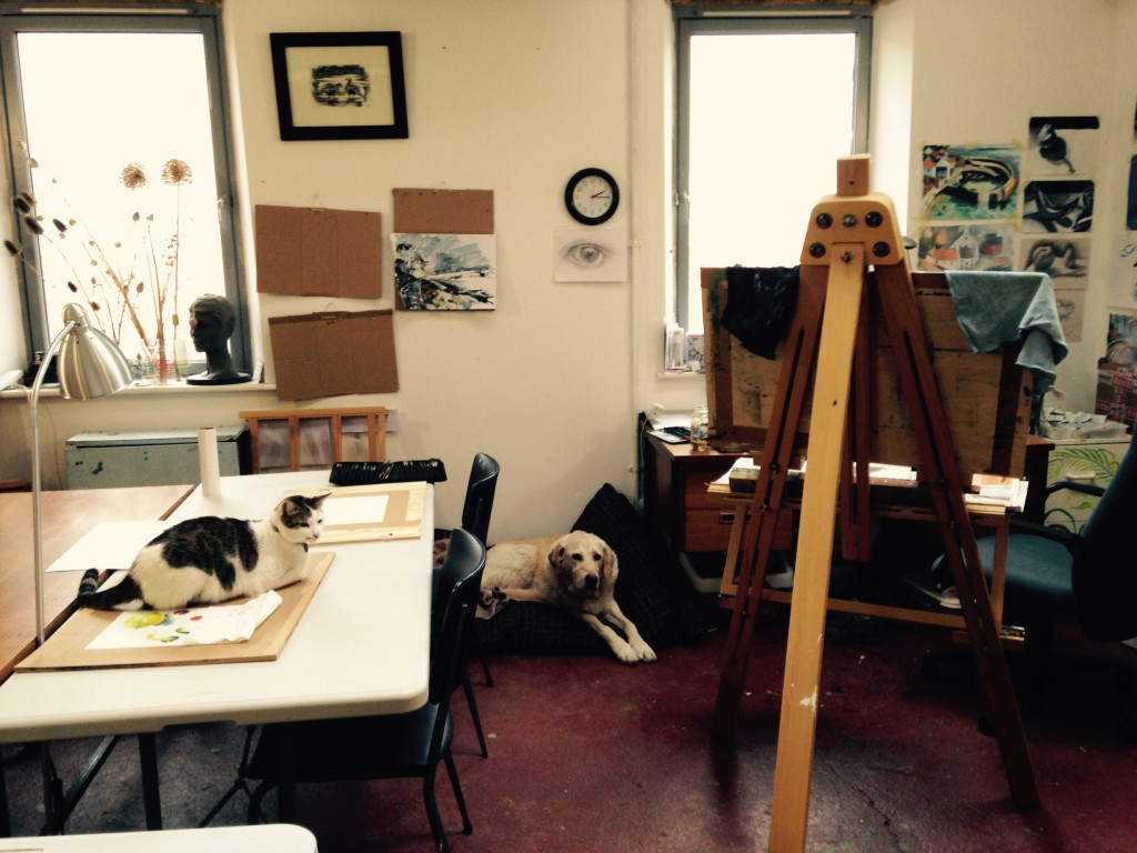 My studio colleagues