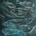 Silver Darlings. Acrylic. 2015
