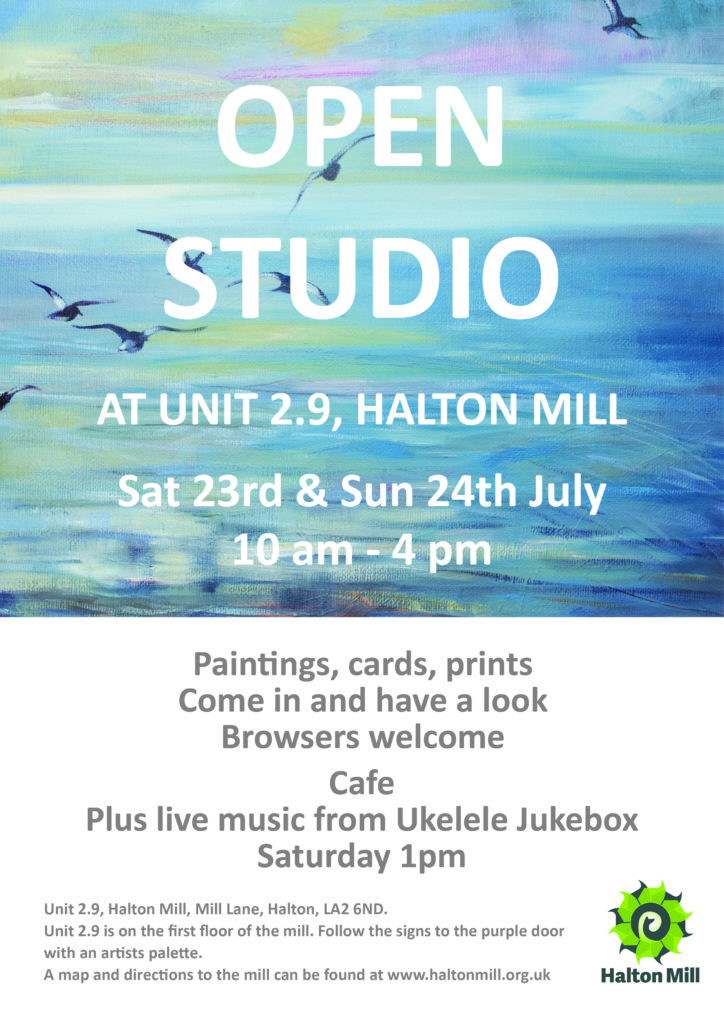 Open Studio, Halton Mill