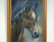 'Zara', framed.