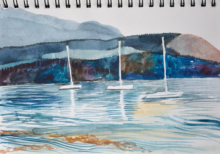Sailing Boats, Brodick