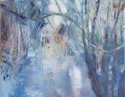 Frosty Morning, Dennybeck. Oil on canvas. 40 x 50 cm.