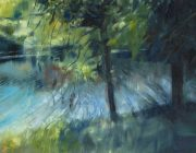 Lune Summer. Oil on canvas. 50 x 40 cm.