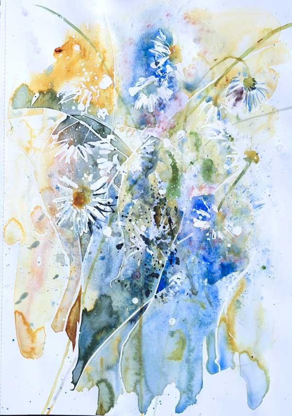 'Meadow', Watercolour